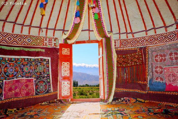 Guide en mongolie guide touristique pour visiter la mongolie et pr parer se - Interieur d une yourte ...