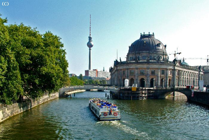 Canal a Berlin - Allemagne