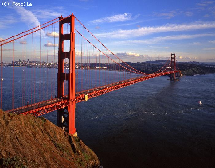 Le Golden Gate a San Francisco - Etats Unis