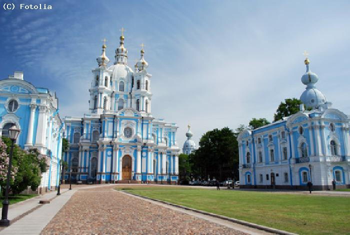 Cathedrale Smolny - SAINT PETERSBOURG