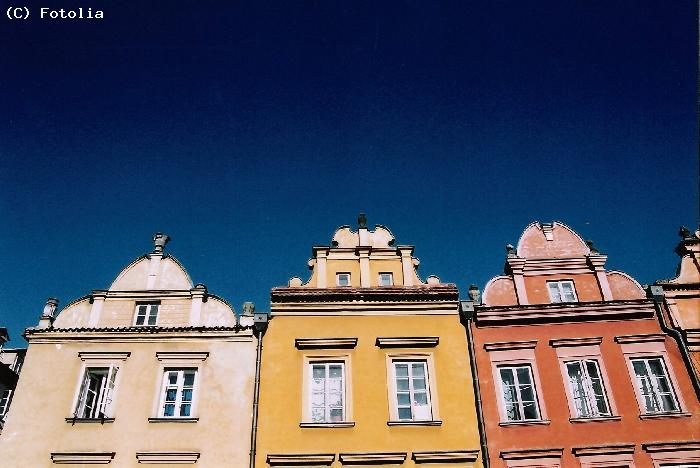 Maisons colorees de Wroclaw - WROCLAW