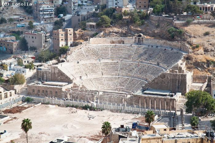 Amphitheatre antique - AMMAN
