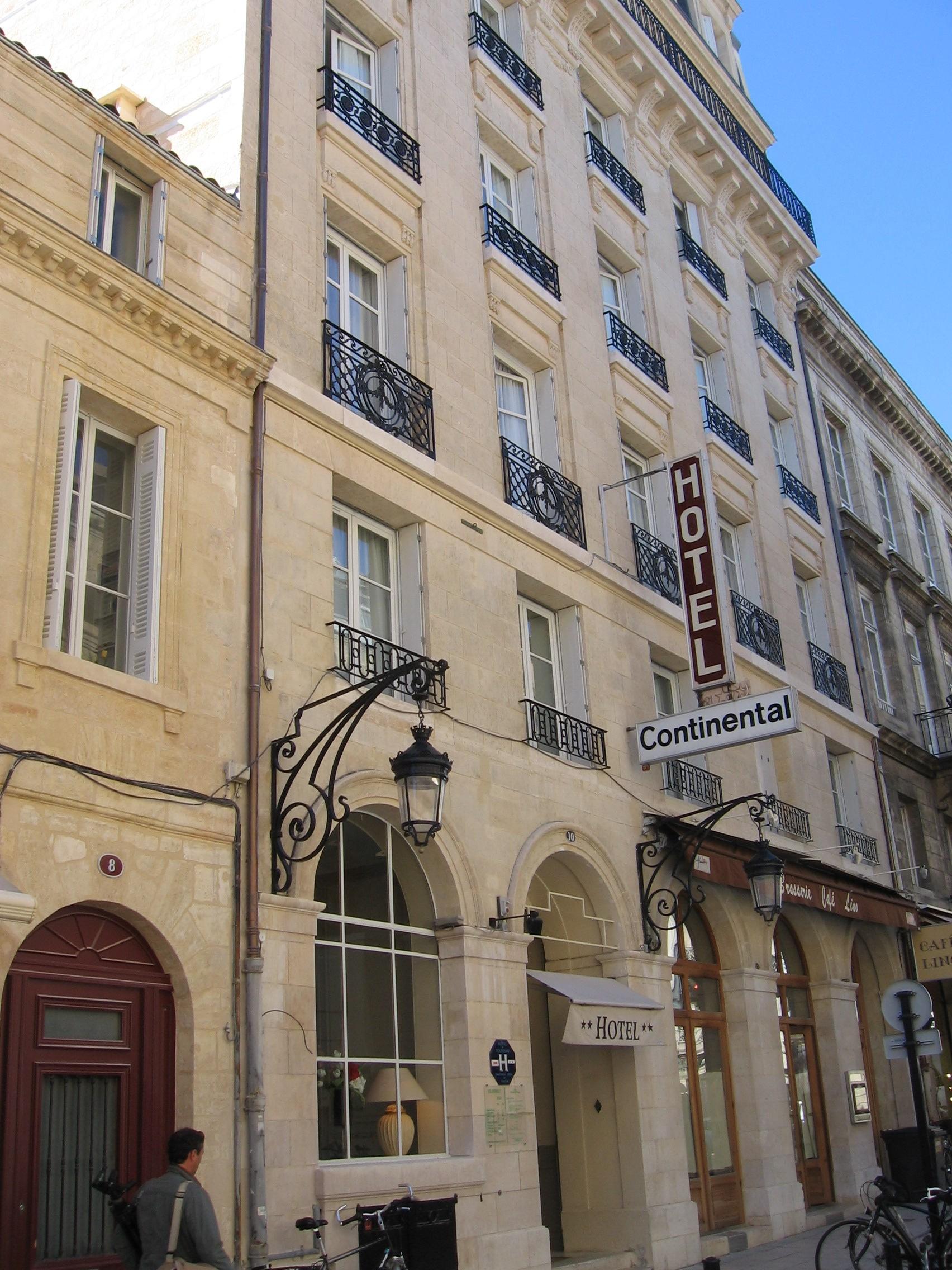 M: Hotel Continental - Bordeaux, France