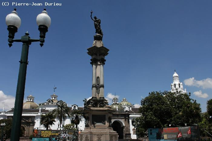 Place de l'Independence - Quito