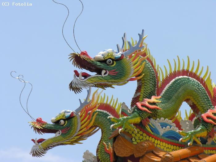 Dragons chinois - Sanya