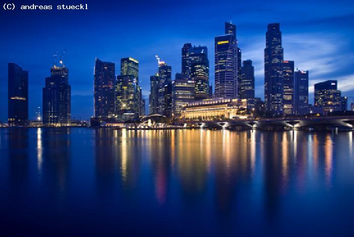 Singapour by night - Singapour