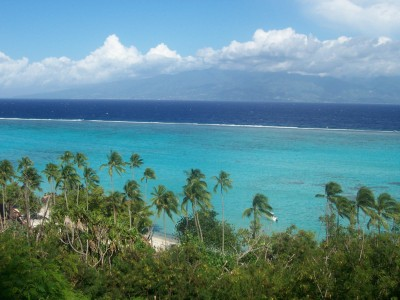 Vol Paris - Moorea