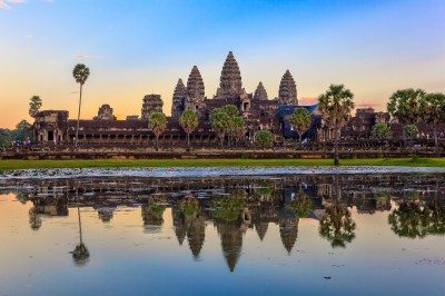 Vol Paris - Siem Reap