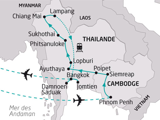 24 Circuits Au Cambodge Offres De Circuits Cambodge Pas